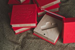 Коробочки для флешек из ткани